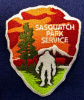 Sasquatch Park Service Patch